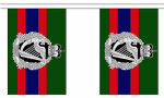 ROYAL IRISH REGIMENT BUNTING - 3 METRES 10 FLAGS
